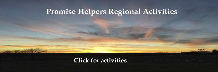 Promise Helpers' regional activities